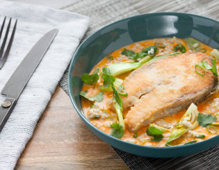 Coconut Salmon Curry