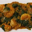 palak shrimp
